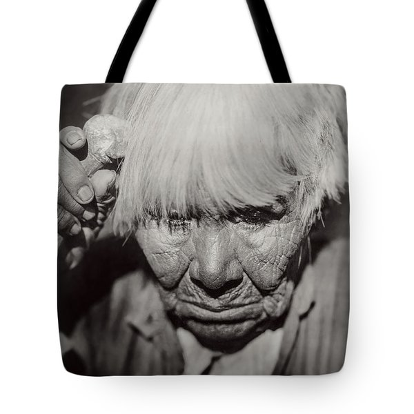 Mourning Circa 1924 Tote Bag by Aged Pixel