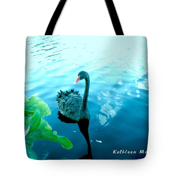 Mourning Swan Song Tote Bag