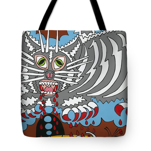 Mouse Dream Tote Bag by Rojax Art