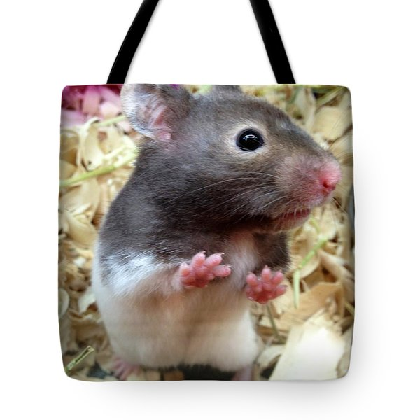 Tote Bag featuring the photograph Mouse In The House by Carla Carson