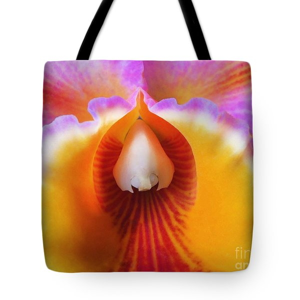 Mouth Of An Orchid Tote Bag