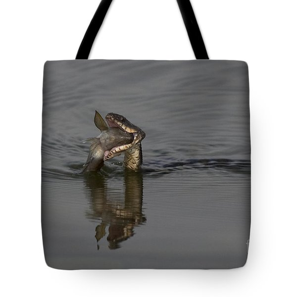 Mouthful Tote Bag by Eunice Gibb