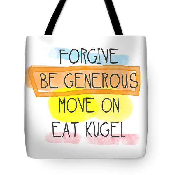 Move On And Eat Kugel Tote Bag
