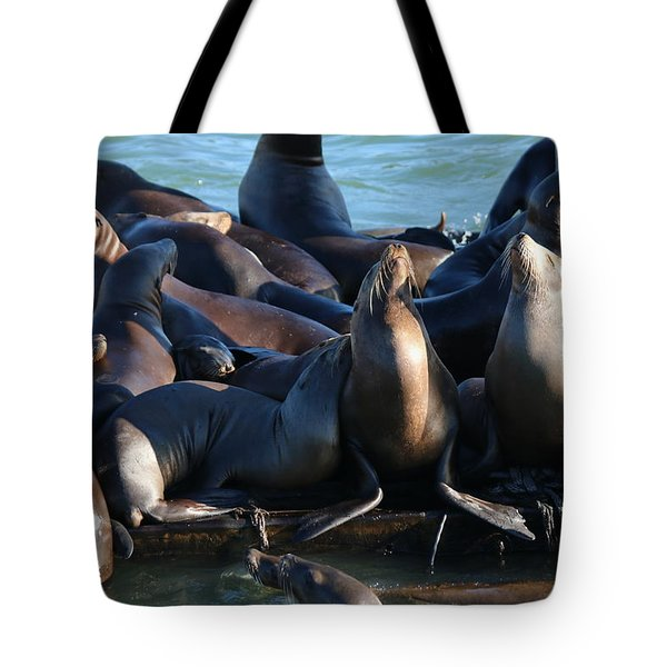 Move Over Tote Bag