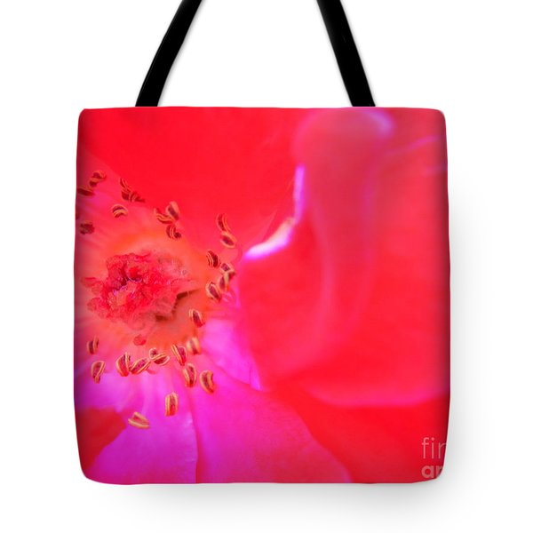 Movement Of The Heart Tote Bag by Agnieszka Ledwon