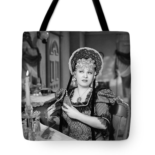 Movie Star Mae West Tote Bag by Underwood Archives