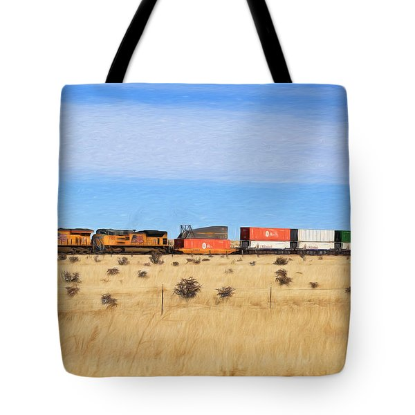 Moving America Across The Heartland Tote Bag