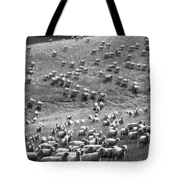 Tote Bag featuring the photograph Moving Hillside by Nareeta Martin
