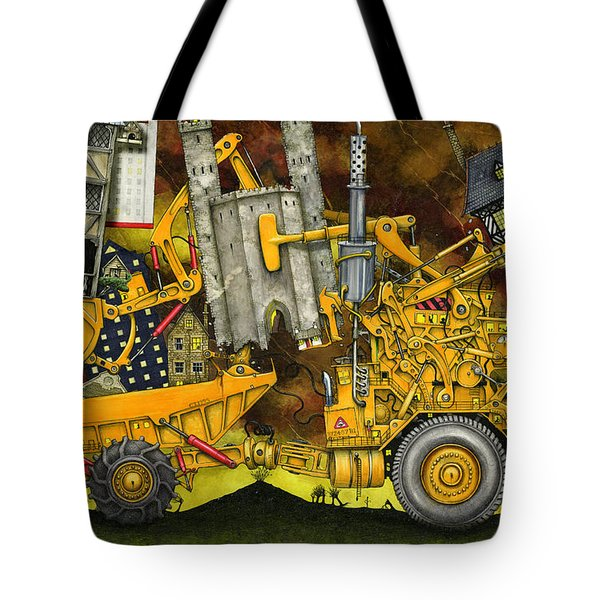 Moving Home Tote Bag by Colin Thompson