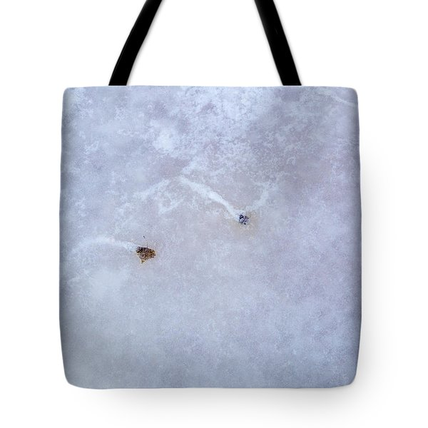 Moving Through Ice Tote Bag