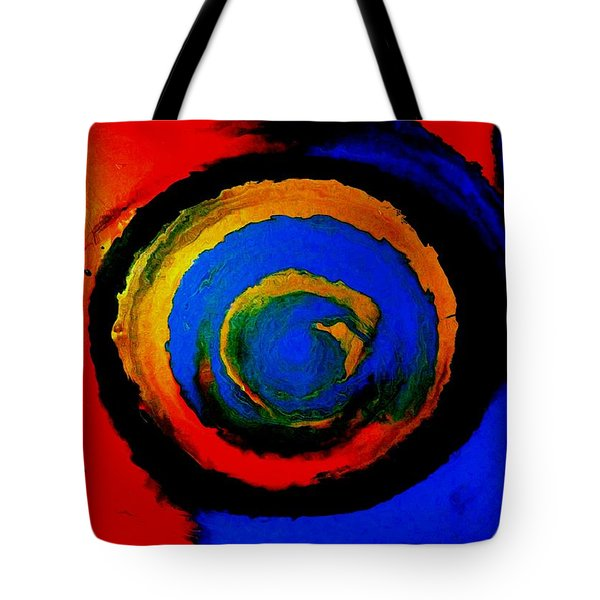 Moving Towards The Light Tote Bag