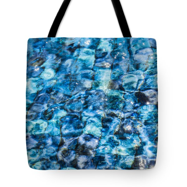 Tote Bag featuring the photograph Moving Water 2 by Leigh Anne Meeks