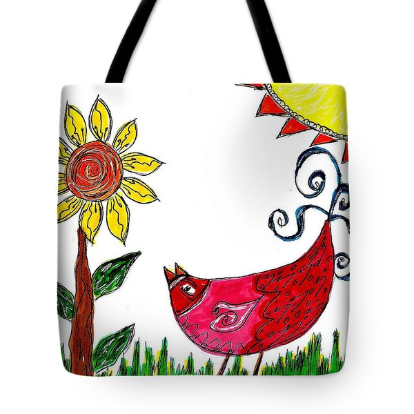 Mprints - Rosie 1 Tote Bag by M  Stuart