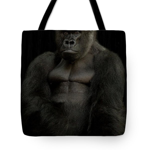 Mr. Big Tote Bag by Christine Sponchia