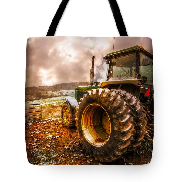 Mr. Big Tote Bag by Debra and Dave Vanderlaan