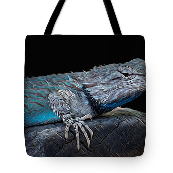 Mr Blu Tote Bag by Michael Moriarty
