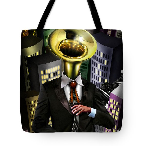 Mr Blue Tote Bag