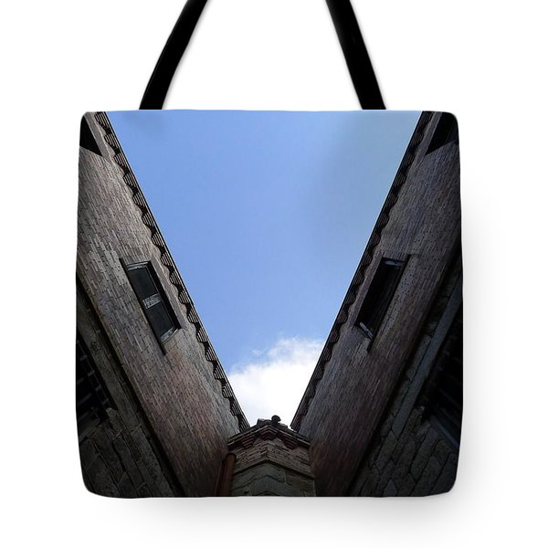 Tote Bag featuring the photograph Mr Blue Sky by Richard Reeve