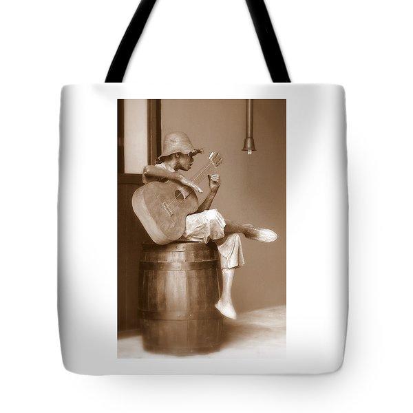 Mr. Bojangles Tote Bag by Karen Wiles