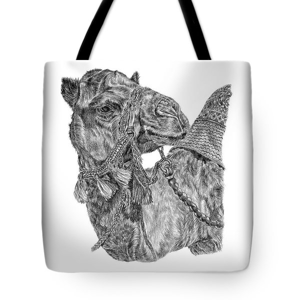 Mr Camel Tote Bag