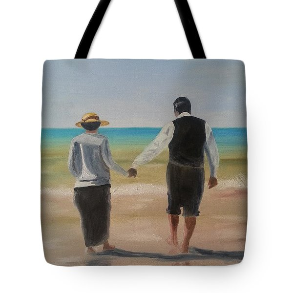 Mr. Carson And Mrs. Hughes Tote Bag