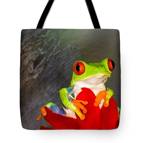 Tote Bag featuring the photograph Mr. Curious by Mary Lou Chmura