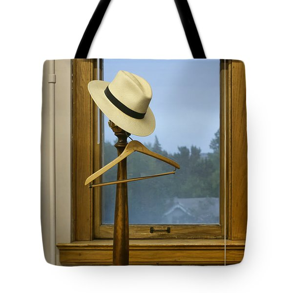 Mr. Daly's Hat Tote Bag by Nikolyn McDonald