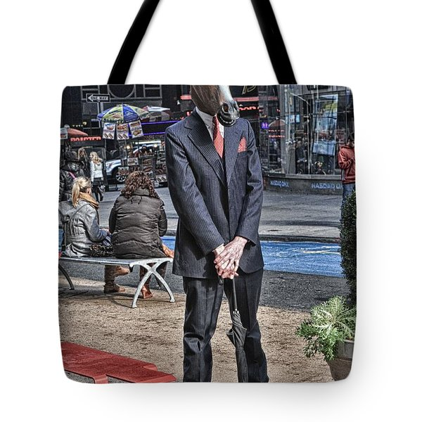 Mr. Ed Tote Bag by Mike Martin
