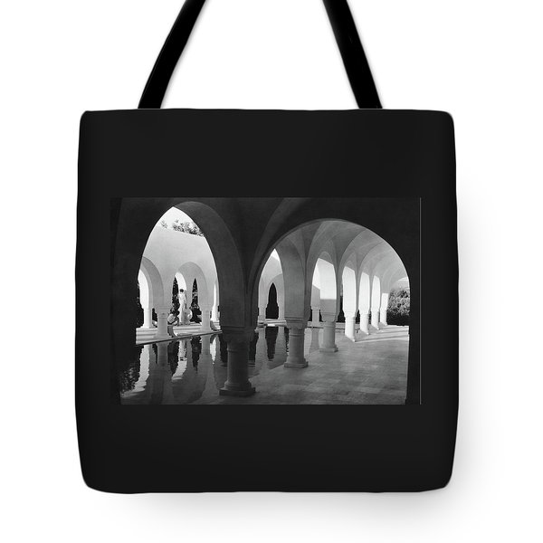 Mr George Sebastian And His Wife Next Tote Bag