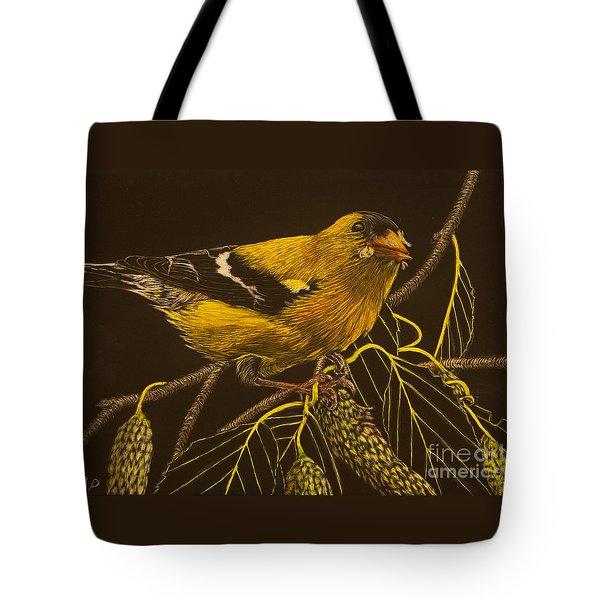 Mr Goldfinch Tote Bag