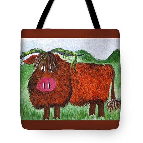 Mr Highland Cow 2 Tote Bag