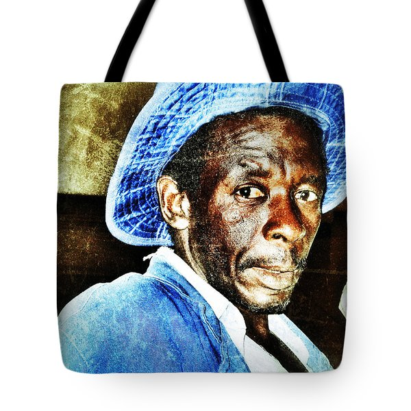 Tote Bag featuring the photograph Mr. Jinja by Al Harden