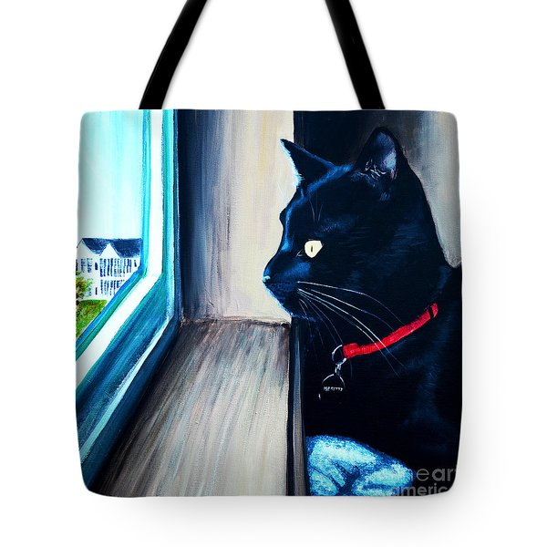 Mr Kitty Tote Bag