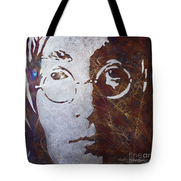 Mr Lennon Tote Bag