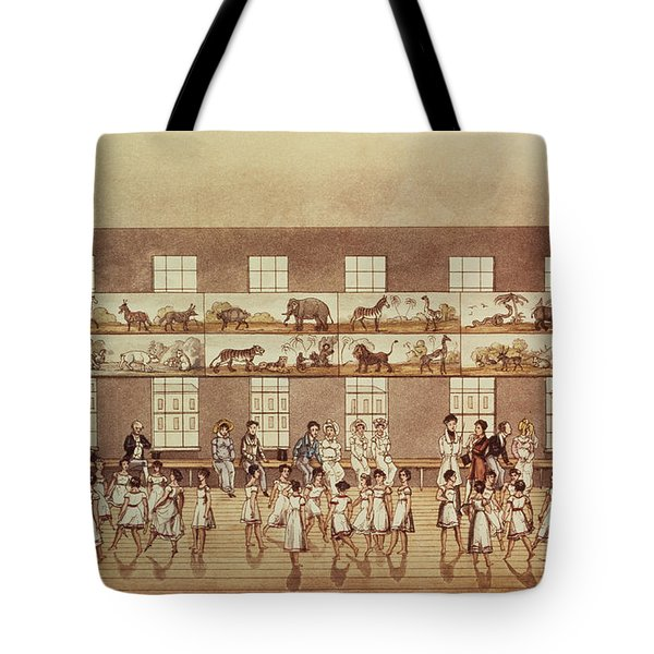 Mr Owens Institution, New Lanark Tote Bag