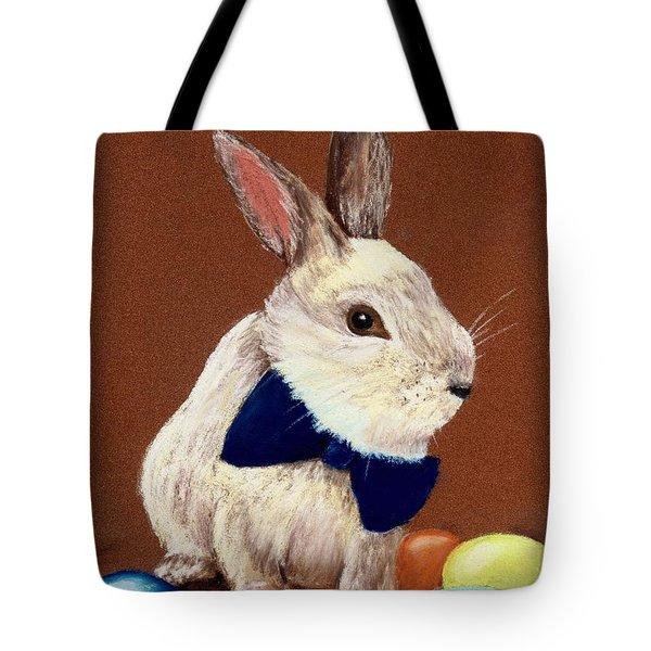Mr. Rabbit Tote Bag by Anastasiya Malakhova