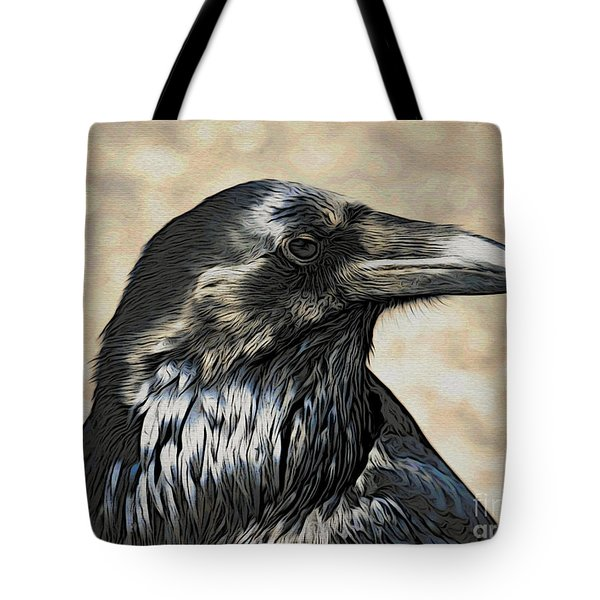 Mr. Raven Tote Bag