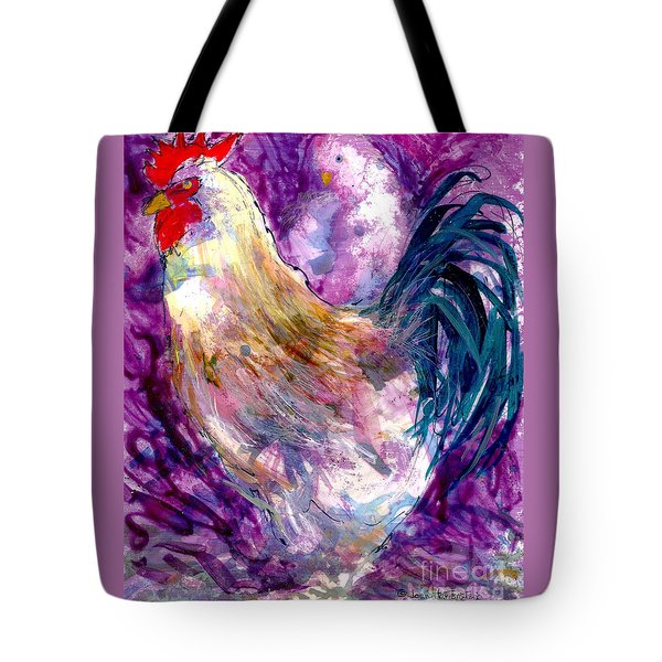Mr. Rooster  Tote Bag by Joan Hartenstein