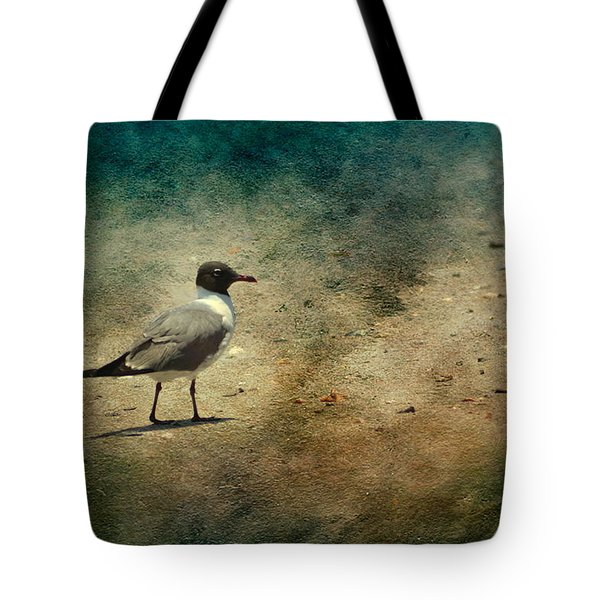 Mr. Seagull Tote Bag