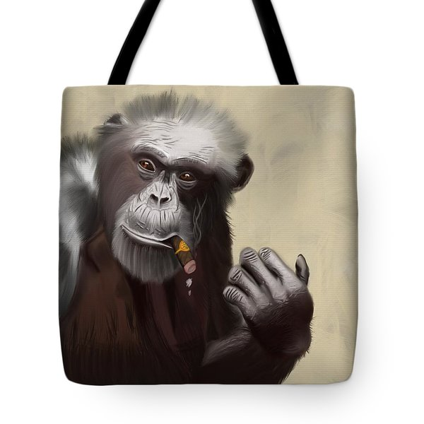 Mr Shelbourne Tote Bag