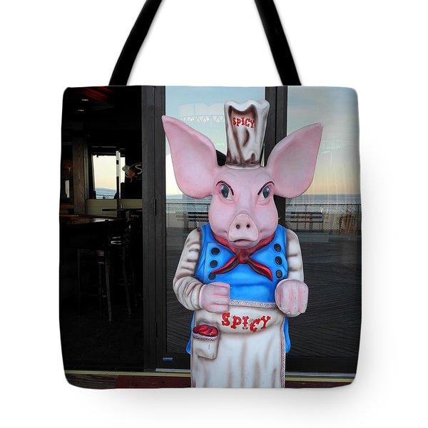 Mr. Spicy Tote Bag