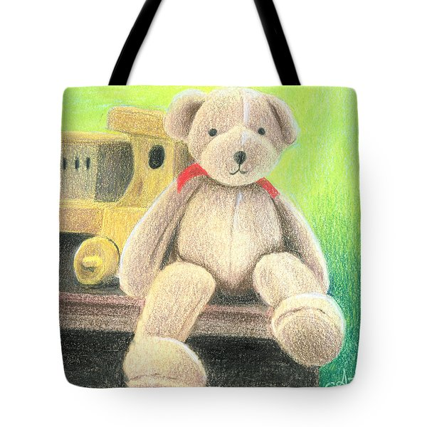 Mr Teddy Tote Bag