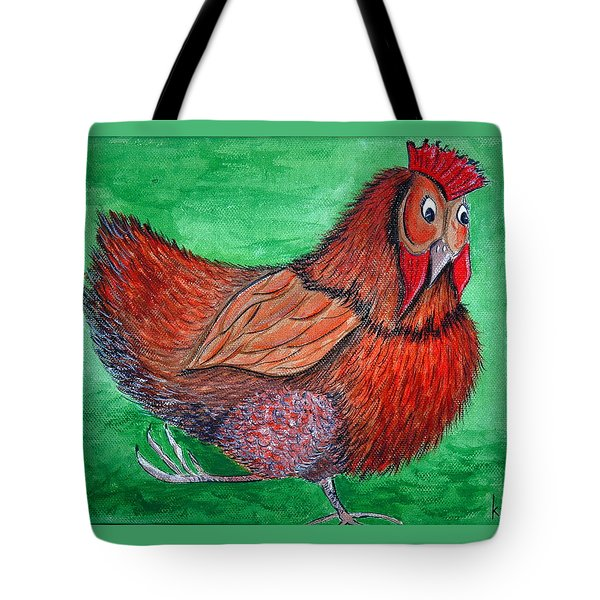 Mrs Chicken Tote Bag
