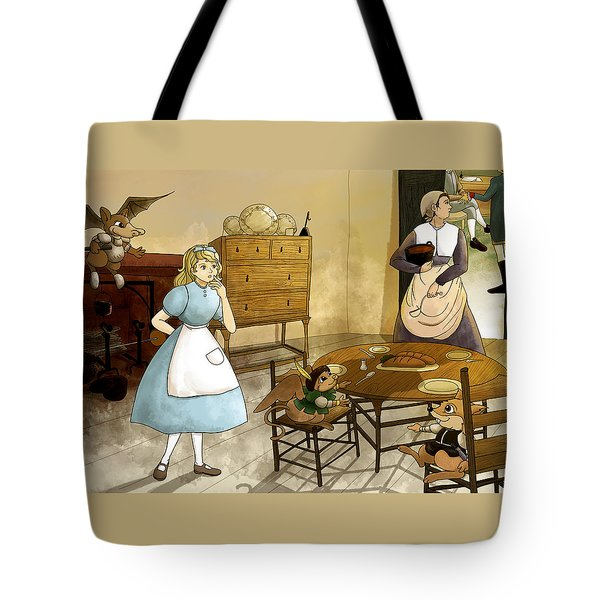 Mrs. Gage's Kitchen Tote Bag by Reynold Jay