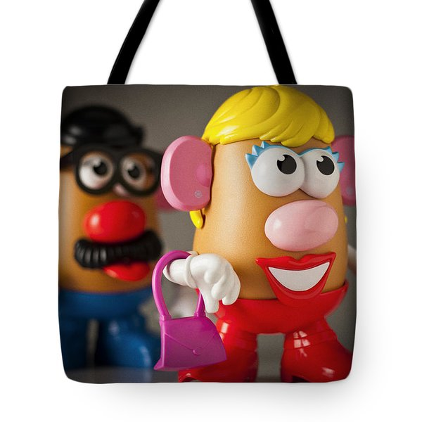 Mrs. Potato Head Tote Bag