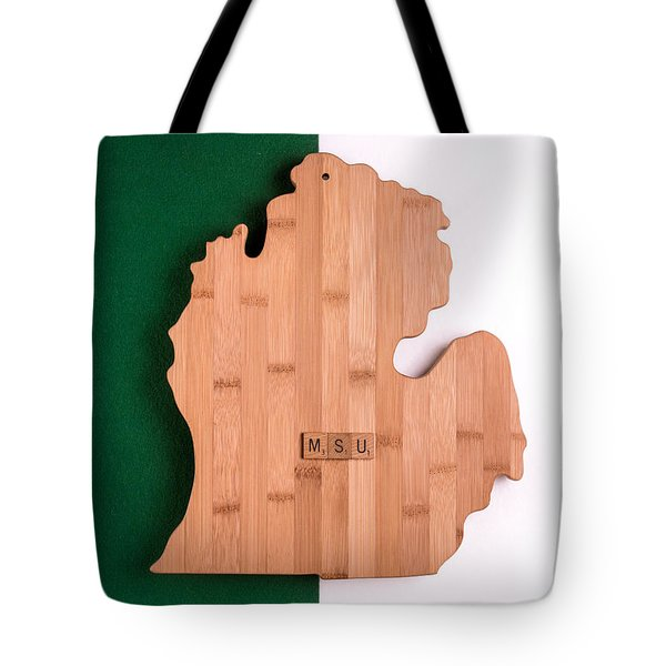 Msu Inspireme Tote Bag by  Onyonet  Photo Studios