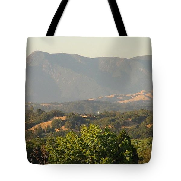 Tote Bag featuring the photograph Mt. Cali by Shawn Marlow