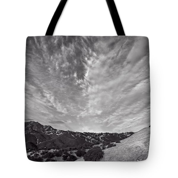 Mt Diablo And Ridge Trail Tote Bag