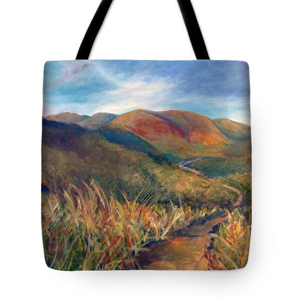 Mt. Diablo Hills Tote Bag