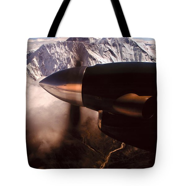 Mt. Everest Tote Bag